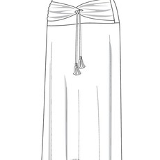 Nomads Hempwear Nomads, Santorini Skirt
