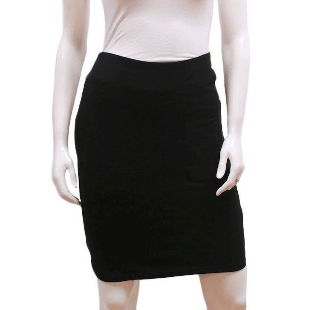 Gilmour, Bamboo French Terry Pencil Skirt