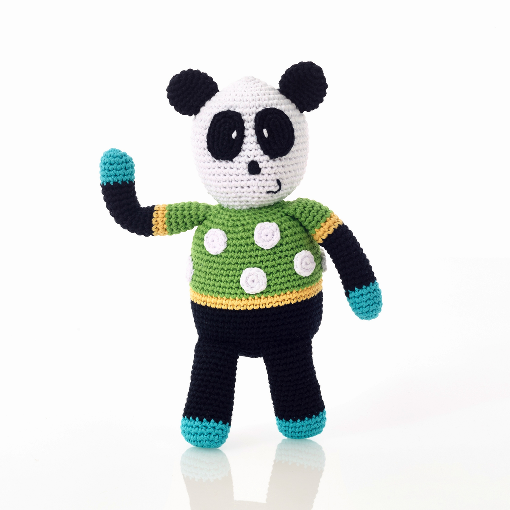 Pebbles Pebble, Panda Rattle