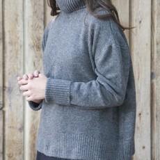 Echo Verde Echo Verde, Oversized Chunky Cowl Sweater