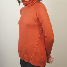 Echo Verde Echo Verde, Funnel Neck Soft Sweater