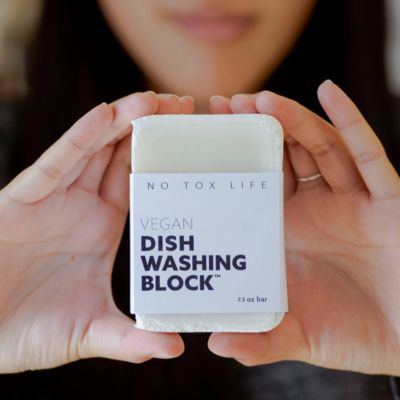 No Tox Life, Zero Waste Dish Washing Block Bar