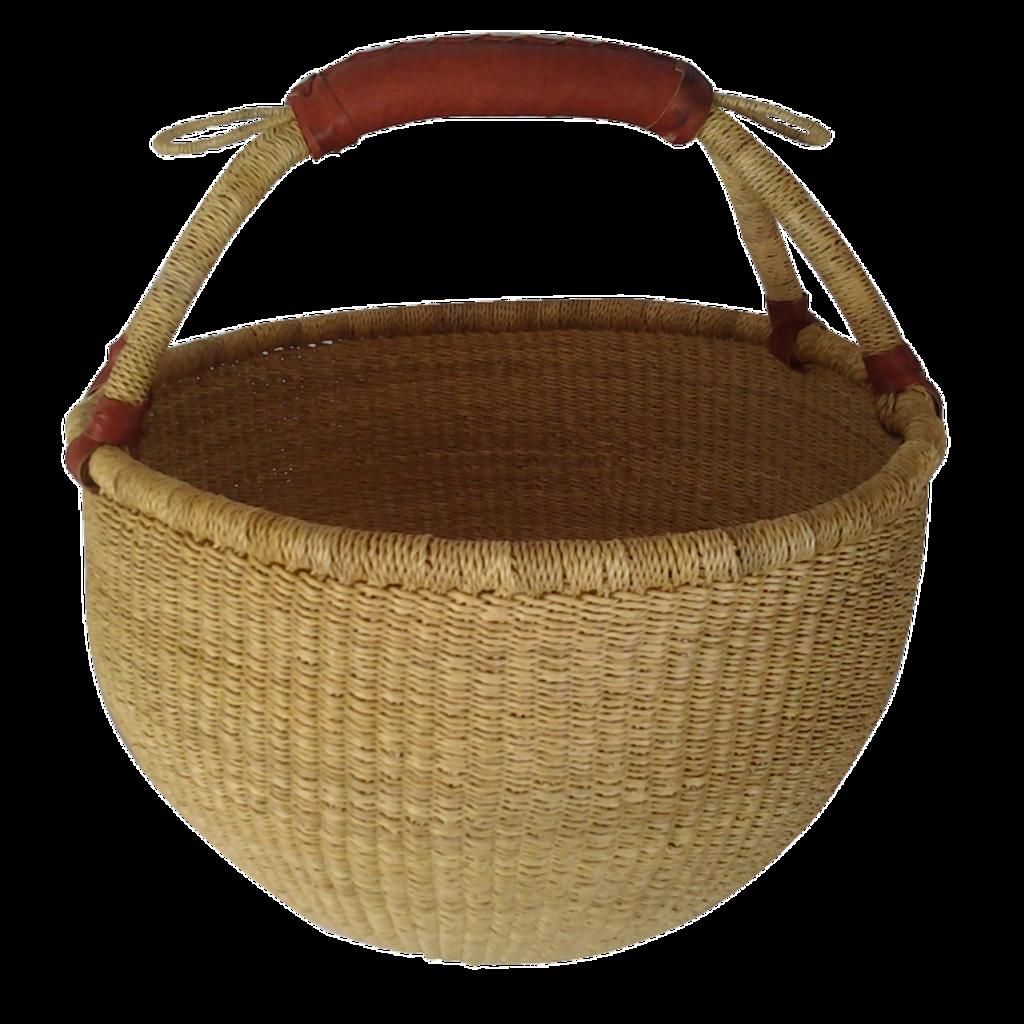 Baraka Baraka, Round Basket (Natural)