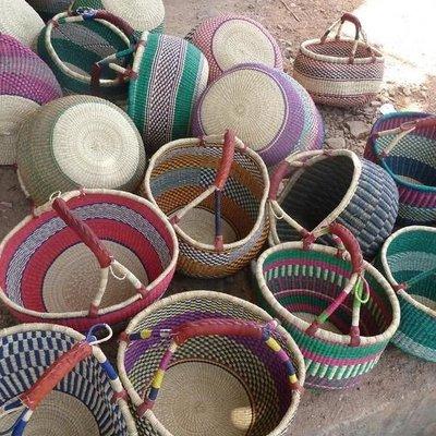 Baraka Baraka, Round Basket