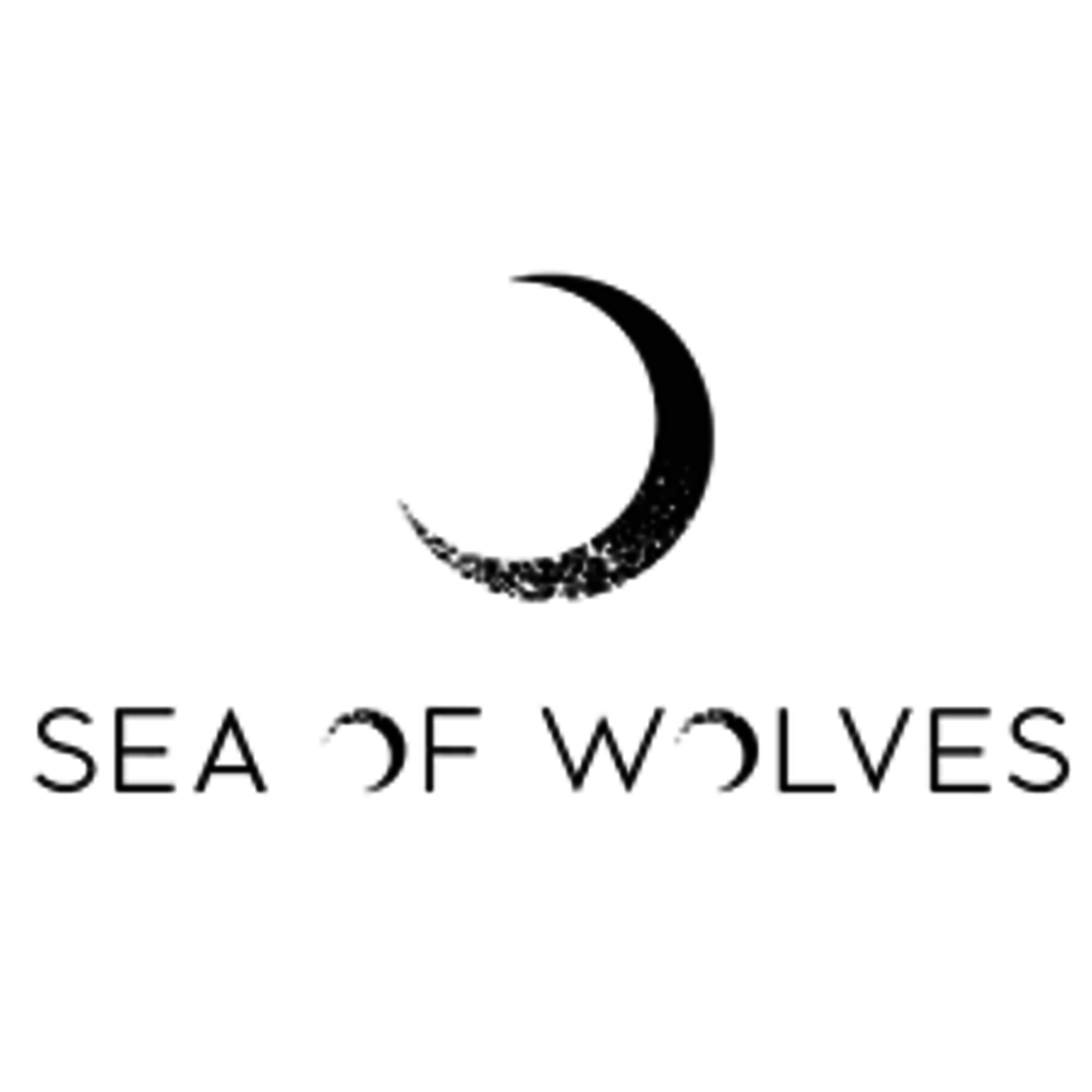 Sea of Wolves Design Sea of Wolves, Scuba Hoodie w/ Sitka Tree Print