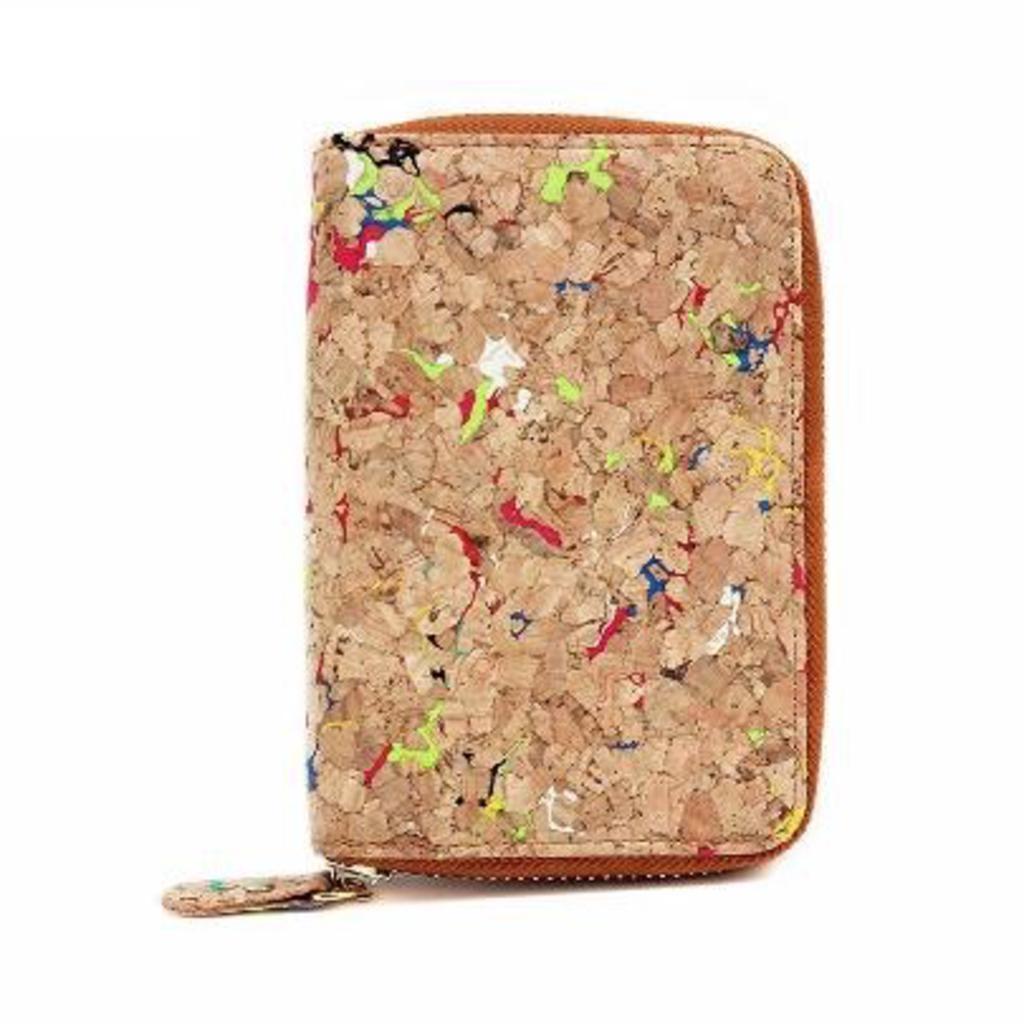 Speckled Cork Wallet