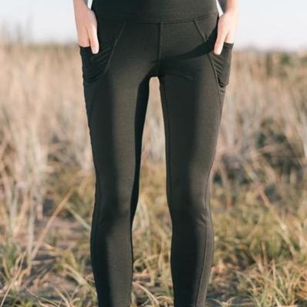 Bamboo Fleece Legging w/ Pockets