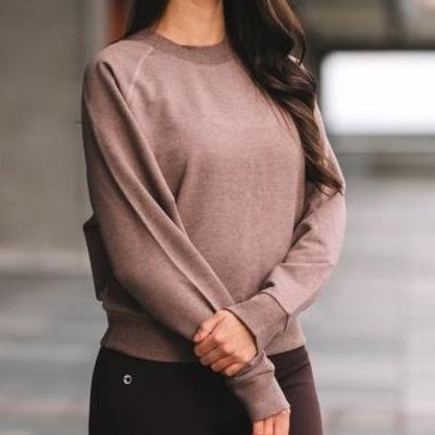 Bamboo Fleece Pullover Sweatshirt