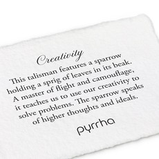 Pyrrha Pyrrha, Creativity