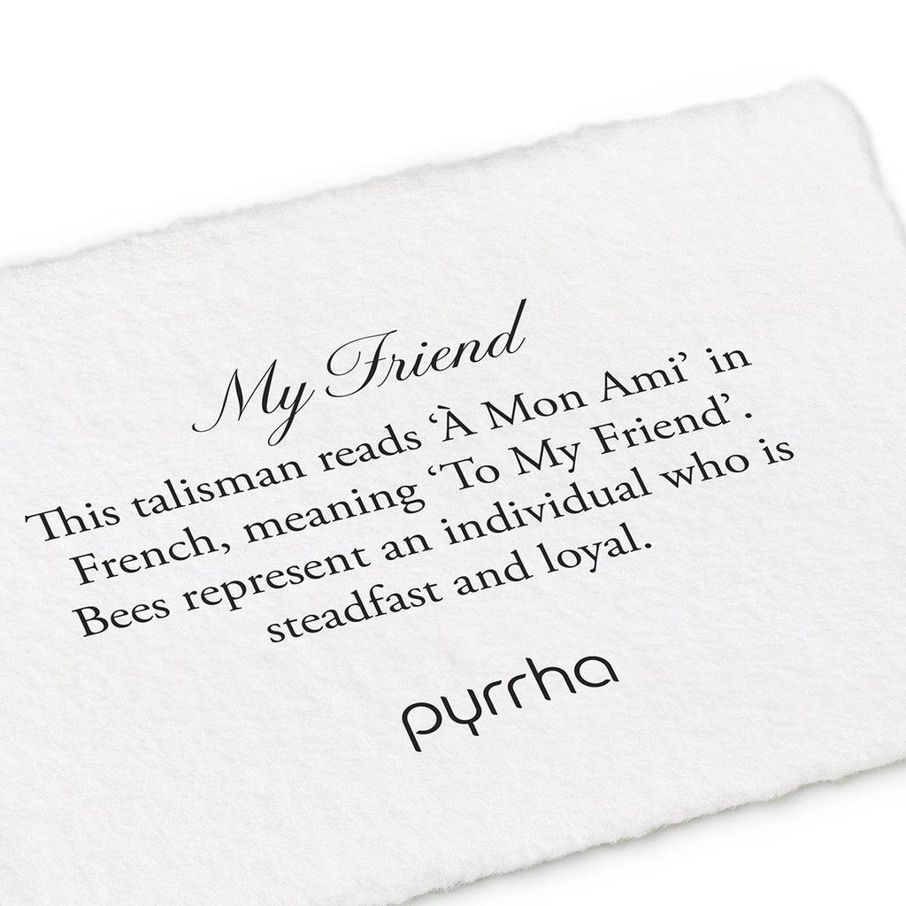 Pyrrha Pyrrha, My Friend