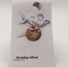 Keeping Afloat, Copper Star Necklace