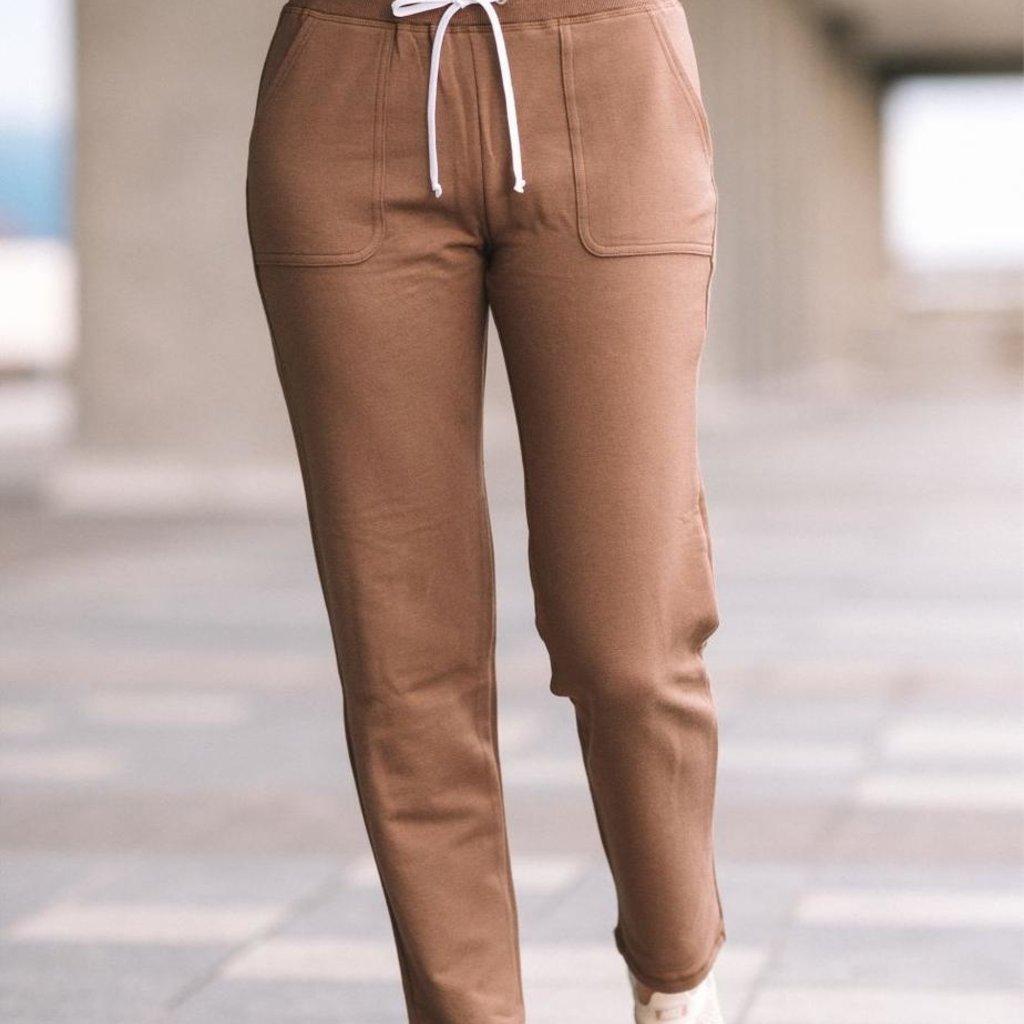 Amy Crop Bamboo Fleece Pant