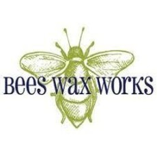 "Bees Wax Works Bees Wax Works, 8"" Taper Candle Pair"