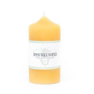 """Bees Wax Works Bees Wax Works, 3"""" Narrow Pillar"""