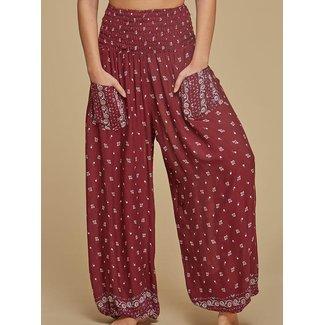 Wear Guru Guru, Genie Pant w/ Patch Pockets (Rayon)