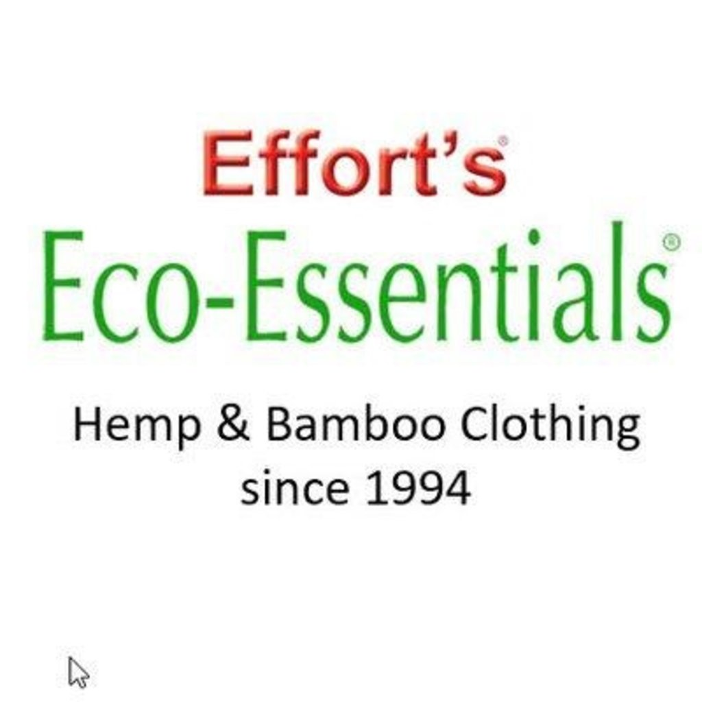Efforts Hempwear Efforts, 3/4 Sleeve Fluid Hemp Top