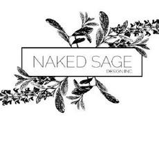 Naked Sage Naked Sage, Gold Heart Studs