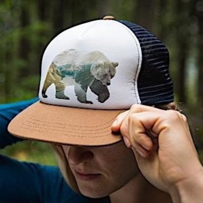 Ambler Ambler, Grizzly Trucker Hat