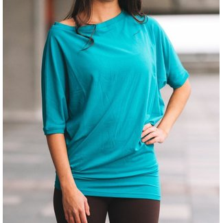 J76 J76, Fanny Loose Fit Asymmetrical Top