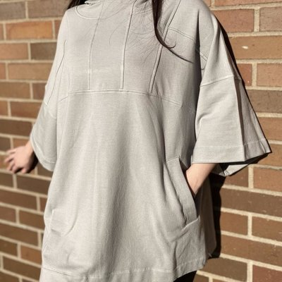 J76 Bianca Blanket Hooded Tunic
