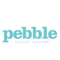 Pebbles Pebble, Stripey Blue Bunny Rattle