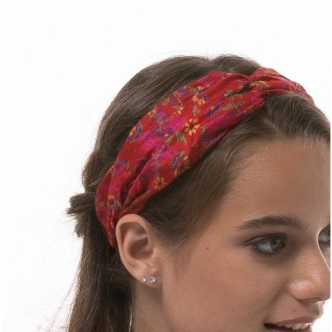 Wear Guru Guru, Twist Silk Headband
