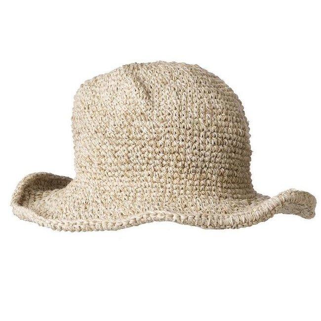 ARK Imports Ark, Hemp Cotton Wirerim Hat, Natural