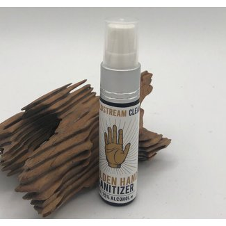 Goldstream Distilery, Golden Hand Sanitizer Spray, 10ml (Glass)