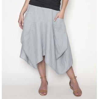 Echo Verde Echo Verde, Linen Pocket Skirt