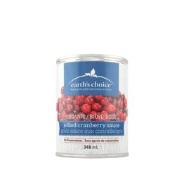 Earth's Choice Organic Jellied Cranberry Sauce (348ml)