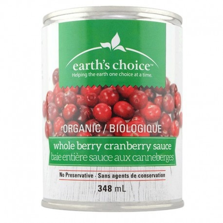 Earth's Choice Organic Whole Cranberry Sauce (348 ml)