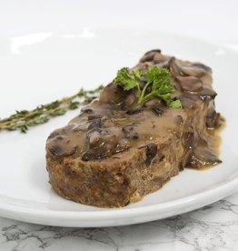 Beef Meatloaf & Mushroom Gravy (Serves 2)