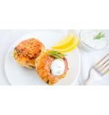Salmon Cake (Serves 2)