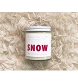 Word Candle SNOW (170 g) 30 hours