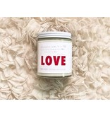 Word Candle LOVE (170 g) 30 hour