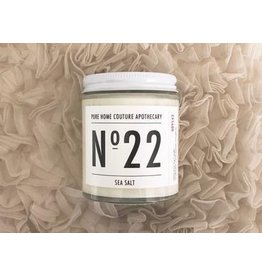 Number Candle Sea Salt (170 g) 30 Hour