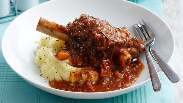 Braised Lamb Shank Dinner(Serves 4)