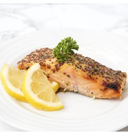 Honey Mustard Salmon Dinner (Serves 1)