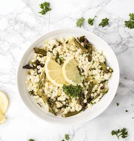Lemon Asparagus Israeli Couscous