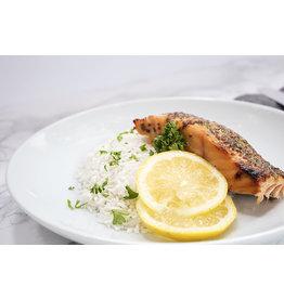 Honey Mustard Salmon Dinner (Serves 1)
