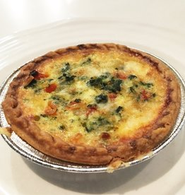 Spinach Quiche & Soup Dinner(Serves 2)