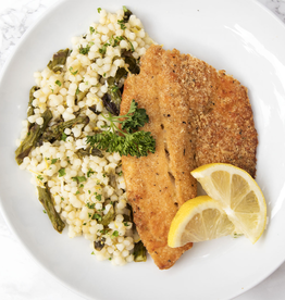 Baked Tilapia Dinner (Serves 1)