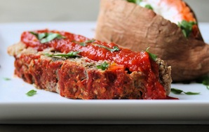 Turkey Meatloaf In A Tangy Tomato Sauce (1)