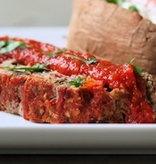 Turkey Meatloaf Dinner (Serves 2)
