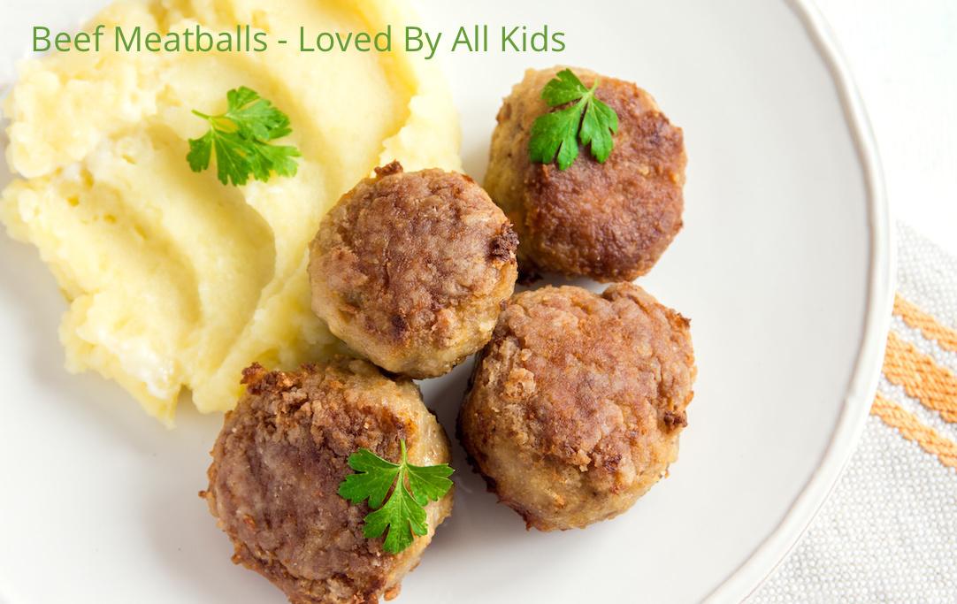 Beef Meatball Dinner (Serves 4)