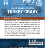Thanksgiving Classic DInner Menu (Serves 4)