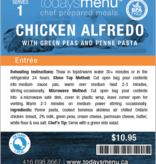 Chicken Alfredo (Serves 2)