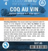 Coq au Vin Dinner (Serves 4)