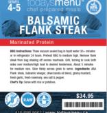 Balsamic Steak Dinner (Serves 4)