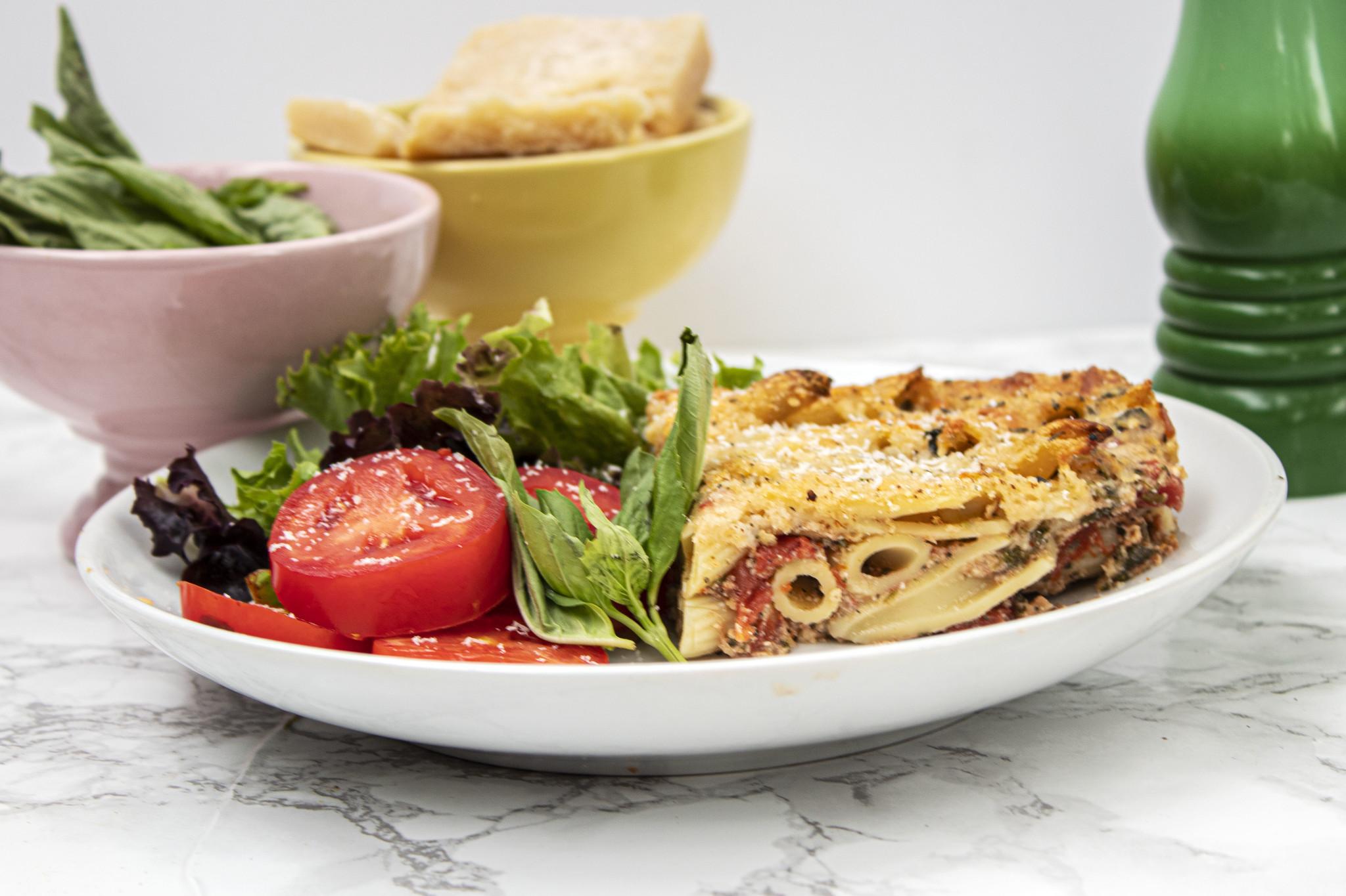 Vegetarian Menu Planner (Serves 2)